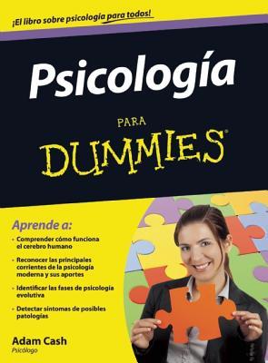 Psicologia Para Dummies - Cash, Adam, Psy
