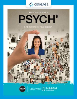 Psych (with Mindtap, 1 Term Printed Access Card) - Rathus, Spencer A