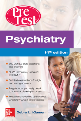 Psychiatry Pretest Self-Assessment and Review, 14th Edition - Klamen, Debra L, MD, and Pan, Philip