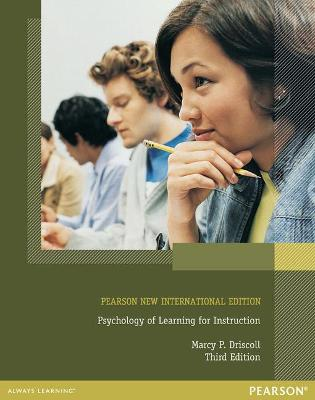 Psychology of Learning for Instruction - Driscoll, Marcy P.