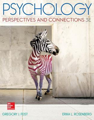 Psychology: Perspectives and Connections - Feist, Gregory, PhD, and Rosenberg, Erika