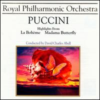 Puccini: Bohème/Butterfly highlights - Claire Rutter (soprano); Paul Charles Clarke (tenor); Stephen Gadd (baritone); Royal Philharmonic Orchestra;...