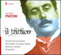 Puccini: Il Trittico - Agnese Dubbini (contralto); Alberto Albertini (baritone); Anna Marcangeli (mezzo-soprano); Carlo Bacci (bass);...