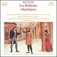 Puccini: La Bohème (Highlights) - Boaz Senator (vocals); Carmen Gonzales (vocals); Fabio Previati (vocals); Ivan Urbas (vocals); Jiri Sulzenko (vocals);...