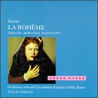 Puccini: La Bohème - Attilio d'Orazi (vocals); Carlo Bergonzi (vocals); Cesare Siepi (vocals); Ettore Bastianini (vocals);...