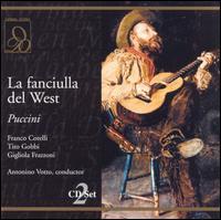 Puccini: La fanciulla del West - Angelo Mercuriali (vocals); Athos Cesarini (vocals); Enzo Sordello (vocals); Franco Corelli (vocals);...