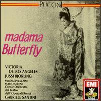 Puccini: Madama Butterfly - Antonio Sacchetti (vocals); Arturo la Porta (vocals); Bonaldo Giaiotti (bass); Jussi Björling (vocals);...