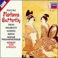 Puccini: Madama Butterfly - Christa Ludwig (vocals); Christa Ludwig (mezzo-soprano); Elke Schary (vocals); Evamaria Hurdes (vocals); Giorgio Stendoro (vocals); Hans Helm (baritone); Hans Helm (vocals); Luciano Pavarotti (vocals); Luciano Pavarotti (tenor); Marius Rintzler (bass)