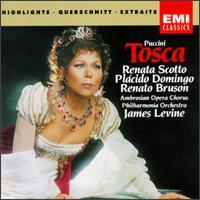 Puccini: Tosca [Highlights] - Andrea Velis (vocals); Itzhak Perlman (vocals); Paul Hudson (bass); Plácido Domingo (tenor); Renata Scotto (vocals);...