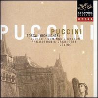 Puccini: Tosca [Highlights] - Andrea Velis (tenor); Dominick Martinez (soprano); Itzhak Perlman (bass); John Cheek (bass); Paul Hudson (baritone);...