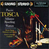 Puccini: Tosca - Fernando Corena (bass); Giovanni Bianchini (soprano); Leonard Warren (baritone); Leonardo Monreale (bass);...
