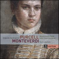 Purcell: England, My England; Monteverdi: Balli e balletti - Alan Woodrow (tenor); Anthony Rolfe Johnson (tenor); David Blackadder (trumpet); David Thomas (bass);...