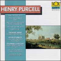 Purcell: English Music/Arne: Concerto/Stanley: Concerto/Chilcot: Concerto - London Chamber Orchestra (chamber ensemble); Thomas McIntosh (harpsichord); Thomas McIntosh (organ); Thomas McIntosh (conductor)