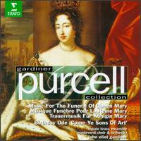 Purcell: Music for the Funeral of Queen mary; Birthday Ode 'Come Ye Sons of Art' - Charles Brett (counter tenor); Equale Brass Ensemble; Felicity Lott (soprano); John Williams (counter tenor);...