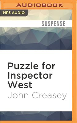 Puzzle for Inspector West - Creasey, John
