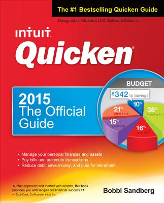 Quicken 2015 the Official Guide - Sandberg, Bobbi