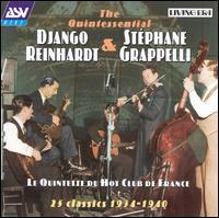 Quintette du Hot Club de France: 25 Classics 1934-1940 - Django Reinhardt & Stephane Grappelli
