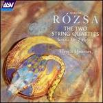 R�zsa: The Two String Quartets; Sonata for 2 Violins