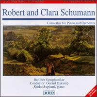 R. Schumann: Concerto, Op. 54; C. Schumann: Concerto, Op. 7 - Shoko Sugitani (piano); Berlin Symphony Orchestra; Gerard Oskamp (conductor)