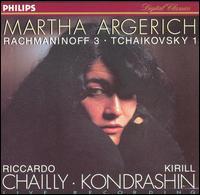 Rachmaninoff 3; Tchaikovsky 1 - Martha Argerich (piano)