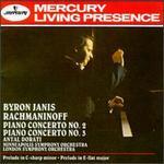 Rachmaninoff: Piano Concertos Nos. 2 & 3; Prelude, Op. 23; Prelude, Op. 3 - Arthur Loesser (piano); Byron Janis (piano); Antal Doráti (conductor)