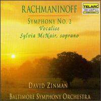 Rachmaninoff: Symphony No. 2; Vocalise - Sylvia McNair (soprano); Baltimore Symphony Orchestra; David Zinman (conductor)