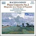 Rachmaninov: Piano Concerto No. 2; Rhapsody on a Theme of Paganini