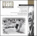 Rachmaninov: Rhapsody on a Theme of Paganini in Am; Symphony No1