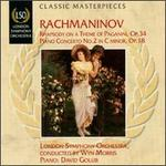 Rachmaninov: Rhapsody on a Theme of Paganini; Piano Concerto No. 2 in C minor, Op. 18