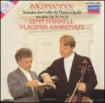 Rachmaninov: Sonata for Cello & Piano, Op. 29; Vocalise, Op. 34, No. 14