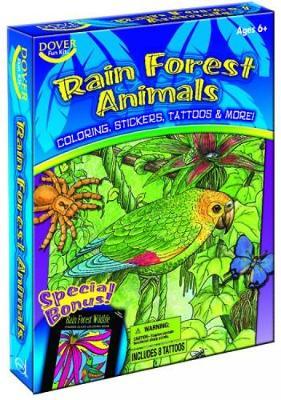 Rain Forest Animals Fun Kit - Dover