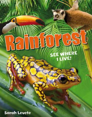 Rainforest See Where I Live!: Age 6-7, below average readers - Levete, Sarah