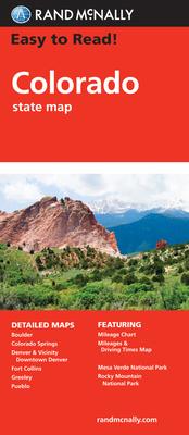 Rand Mcnally Easy to Read Colorado - Rand McNally and Company