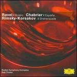 Ravel: Boléro; Chabrier: España; Rimsky-Korsakov: Sheherazade