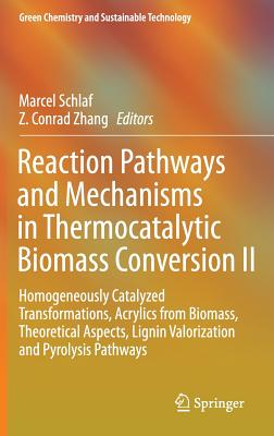 Reaction Pathways and Mechanisms in Thermocatalytic Biomass Conversion II: Homogeneously Catalyzed Transformations, Acrylics from Biomass, Theoretical Aspects, Lignin Valorization and Pyrolysis Pathways - Schlaf, Marcel (Editor)