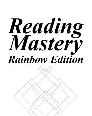 Reading Mastery Rainbow Edition Fast Cycle Grades 1-2, Assessment Manual - McGraw-Hill Education, and Engelmann, Siegfried, and Bruner, Elaine C.