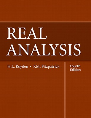 Real Analysis - Royden, Halsey, and Fitzpatrick, Patrick