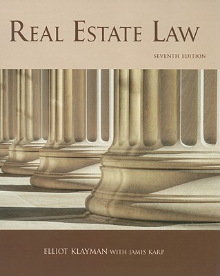 Real Estate Law - Klayman, Elliott, and Karp, James
