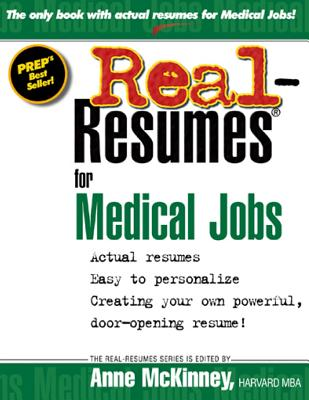 Real-Resumes for Medical Jobs - McKinney, Anne