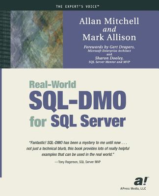 Real-World Sql-Dmo for SQL Server - Mitchell, Allan, and Allison, Mark