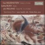 Reizenstein: Sonata in G-sharp; Bush: Sonata; Ireland: Sonata No. 2 in A minor