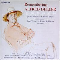 Remembering Alfred Deller - Dave Bainbridge (guitar); Ian Thompson (harpsichord); James Bowman (counter tenor); John Turner (recorder);...