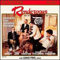 Rendezvous with Tashi - Lukas Foss (piano); Tashi; Timothy Eddy (cello)