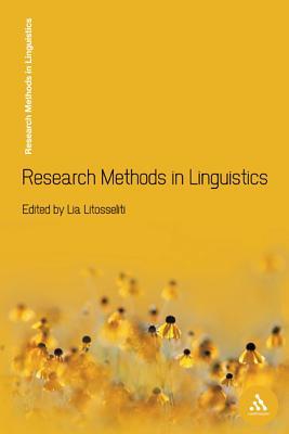 Research Methods in Linguistics - Litosseliti, Lia, Dr.