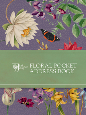 RHS Floral Pocket Address Book - Royal Horticultural Society