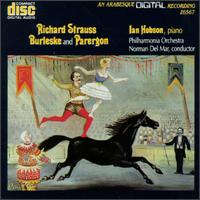 Richard Strauss: Burleske and Parergon - Ian Hobson (piano); Philharmonia Orchestra; Norman del Mar (conductor)