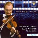Richard Strauss, Hans Pfitzner: Violinsonaten
