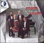 Richard Strauss: Piano Quartet in C minor, Op. 13; Charles-Marie Widor: Piano Quartet in A minor, Op. 66