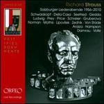 Richard Strauss: Salzburger Liederabende, 1956-2010