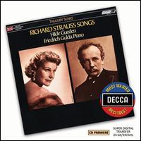 Richard Strauss: Songs - Elisabeth Söderström (soprano); Friedrich Gulda (piano); Heinz Holecek (baritone); Hilde Güden (soprano);...